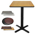"Dual-Sided Bar-Height Table Kits 42-1/4""H"