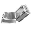 Stainless Steel Hinged Cover for Full Size Food Pans