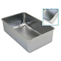 "Stainless Steel Spillage Pan 20-3/4""L x 12-3/4""W x 6-1/4""H"