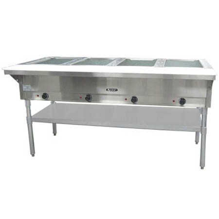 "Adcraft 4-Well 208/240V Electric Hot Food Table 63-3/4""W"