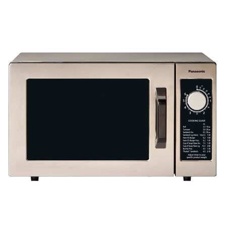 "Panasonic 0.8 cu. ft. 1000 Watt Microwave with Dial Timer 20-1/8""W"