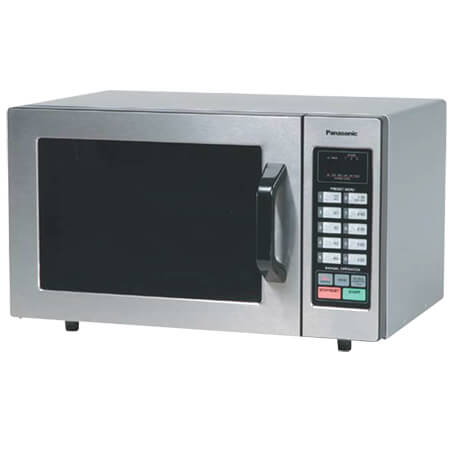 "Panasonic 0.8 cu. ft. 1000 Watt Light Duty Programmable Microwave Oven with Touch Pad 20""W"