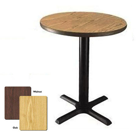 "42"" Round Oak/Walnut Dual-Sided Table Kit"