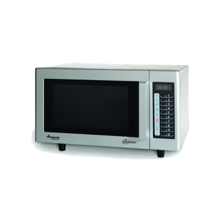 "Amana 0.9 cu. ft. 1000 Watt Light Duty Programmable Microwave Oven with Touch Pad 20""W"