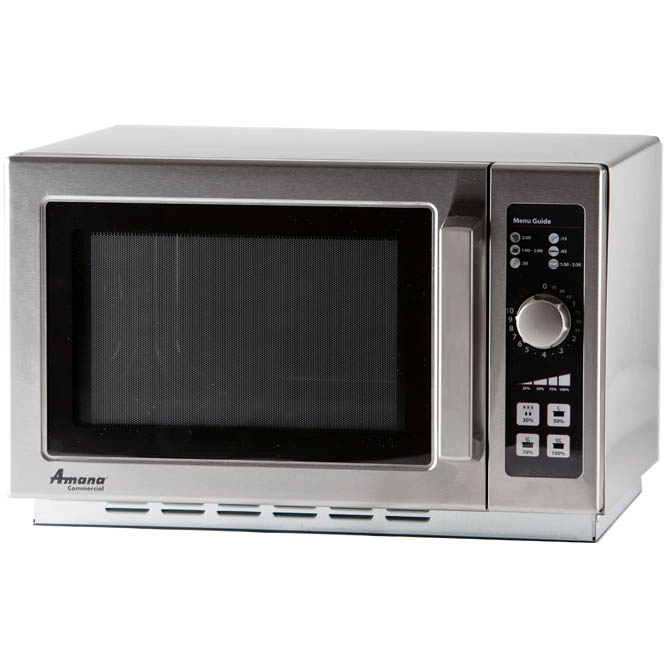 1000 Watt Commercial Large Capacity Microwave Oven With Dial Timer Zoom Manufacturer Specs