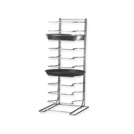 "American Metalcraft 11-Slot Pizza Pan Rack 12""L x 12""W x 27-1/2""H"