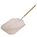 "American Metalcraft 39-1/2"" Aluminum Pizza Peel with Wood Handle and 16"" x 18"" Blade"