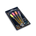 American Metalcraft Neon Smear-Proof Chalk Markers 4-Pack