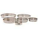 6-Piece Straight-Sided Round Aluminum Cake Pan Set