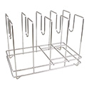 American Metalcraft 4-Slot Pizza Screen Rack 14\x22L x 9\x22W x 10-1/2\x22H
