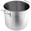 Aluminum Stock Pots & Covers