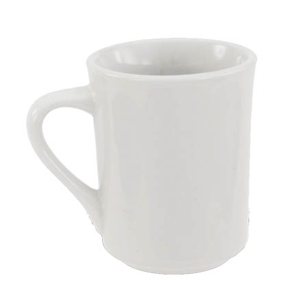 Crestware Alpine 8.5 oz. Super White Coffee Mug