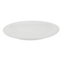 Crestware Alpine 10-3/8\x22 Super White Narrow Rim Plate