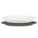 Crestware Alpine 13-1/2\x22 Super White Narrow Rim Platter
