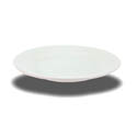 Crestware Alpine 9-1/2\x22 Super White Rolled Edge Plate