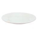 Crestware Alpine 12\x22 Super White Rolled Edge Plate