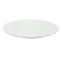Crestware Alpine 10-3/8\x22 Super White Rolled Edge Plate