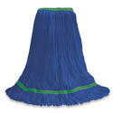 O-Cedar Commercial Small MaxiClean Loop-End Blue Mop Head