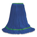 O-Cedar Commercial Medium MaxiClean Loop-End Blue Mop Head