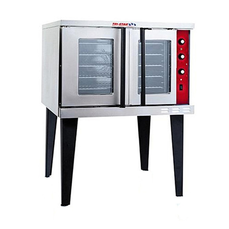 Tri-Star Full Size Single Deck Natural Gas Convection Oven