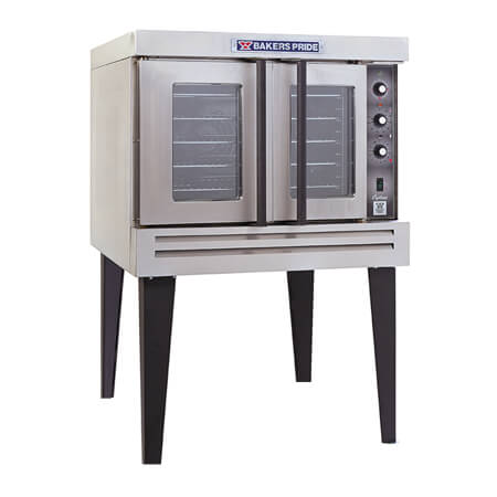 "Baker's Pride Full Size Single Deck Liquid Propane Gas Convection Oven with Legs 39""W"