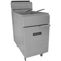 Tri-Star 65-75 lb. LP Gas Fryer with Stainless Steel Pot 19-1/2