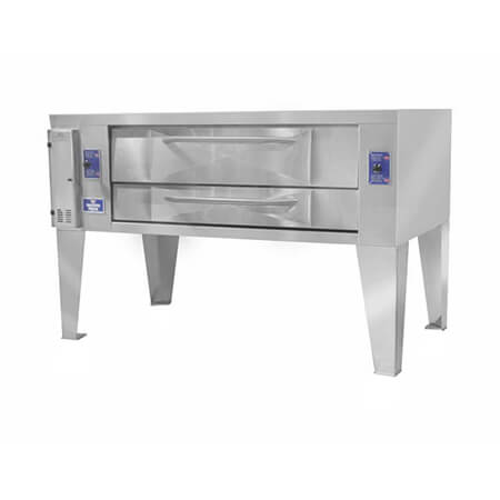 "Bakers Pride 120,000 BTU Natural Gas 1-Deck Oven 78""W"