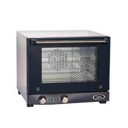 "Cadco Quarter Size 120V Electric Countertop Convection Oven 19""W"