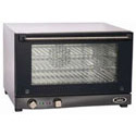 Cadco Half Size 120V Electric Countertop Convection Oven 24\x22W
