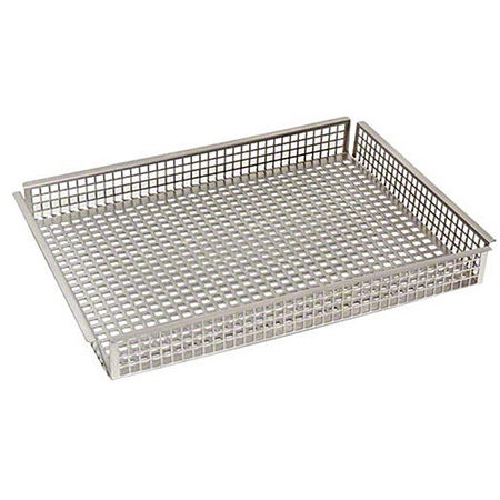 Quarter Size Perforated Crisping Basket for Convection Ovens