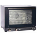 Cadco Half Size 208/240V Electric Countertop Convection Oven 24\x22W
