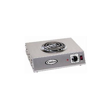 Cadco 1 or 2 Burner Electric Hot Plate