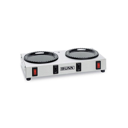 Bunn 2-Burner Coffee Warmer with Separate Controls