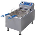 "Globe 10 lb. Electric Countertop Fryer 11-1/10""W"