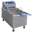 "Globe 16 lb. Electric Countertop Fryer 11-1/4""W"