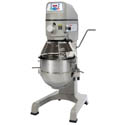 "Globe 30-Quart 3-Speed 1 HP Planetary Mixer 23-1/4""W"