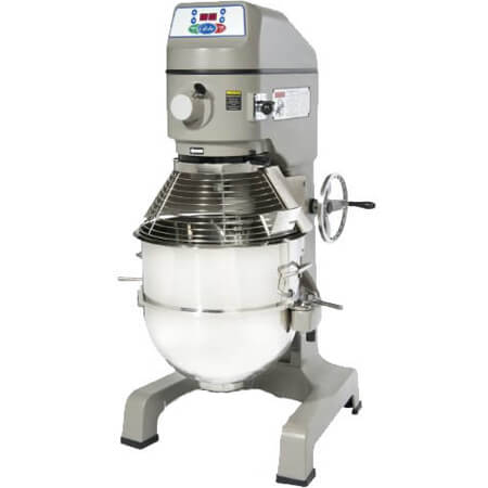Globe 60-Quart 3-Speed 3 HP Gear Driven Mixer with Bowl Guard