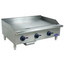 Globe Chefmate Manual Control Gas Griddle 36