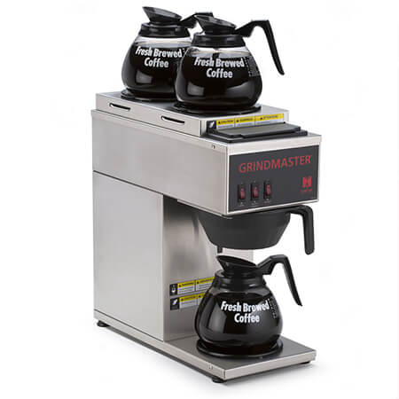Cecilware 3-Burner Pourover Coffee Brewer
