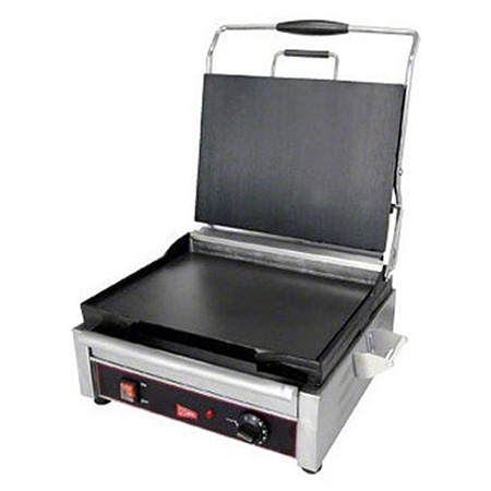 "Cecilware 14"" x 11"" Smooth Surface Sandwich Grill"
