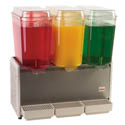 Crathco Triple 5-Gallon Cold Drink Dispenser