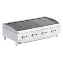 Cecilware 160,000 BTU Radiant Gas Charbroiler 48
