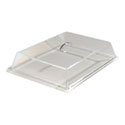 "Carlisle Flat Dome Pastry Cover 18""L x 13""W x 4""H"