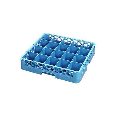 Carlisle OptiClean 20-Compartment Divided Cup Rack