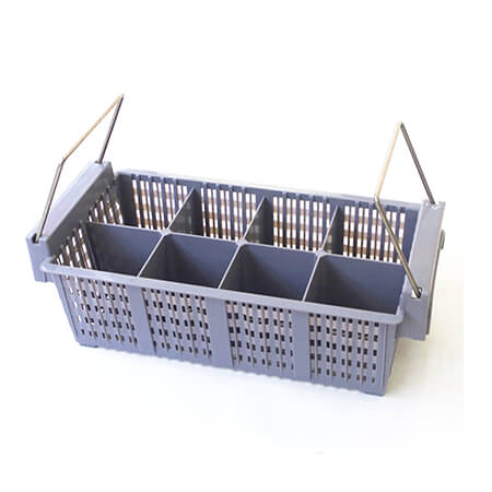 Carlisle OptiClean Flatware Basket with Handles