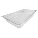 Carlisle Full Size Clear Food Pan 12-3/4\x22 x 20-3/4\x22 x 4\x22 Deep