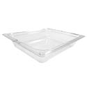 Carlisle 1/2-Size Clear Food Pan 10-3/8\x22 x 12-3/4\x22 x 2-1/2\x22 Deep