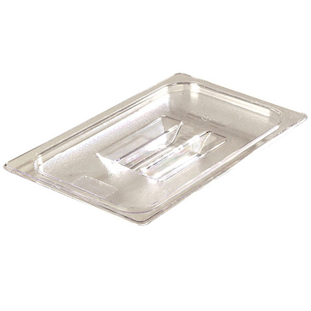 Solid Cover for Carlisle StorPlus 1/4-Size Clear Food Pan