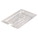Slotted Cover for Carlisle StorPlus 1/4-Size Clear Food Pan