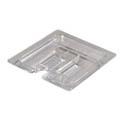 Slotted Cover for Carlisle StorPlus 1/6-Size Clear Food Pan